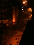 Top view of Mohamed Mahmoud Street